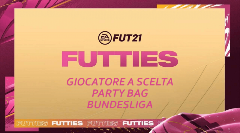 FIFA 21: SCR giocatore a scelta Party Bag Bundesliga Futties
