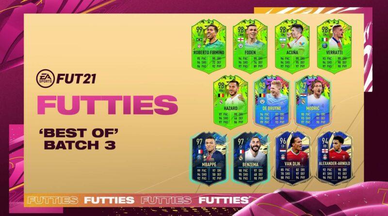 FIFA 21: Futties Best of batch 3