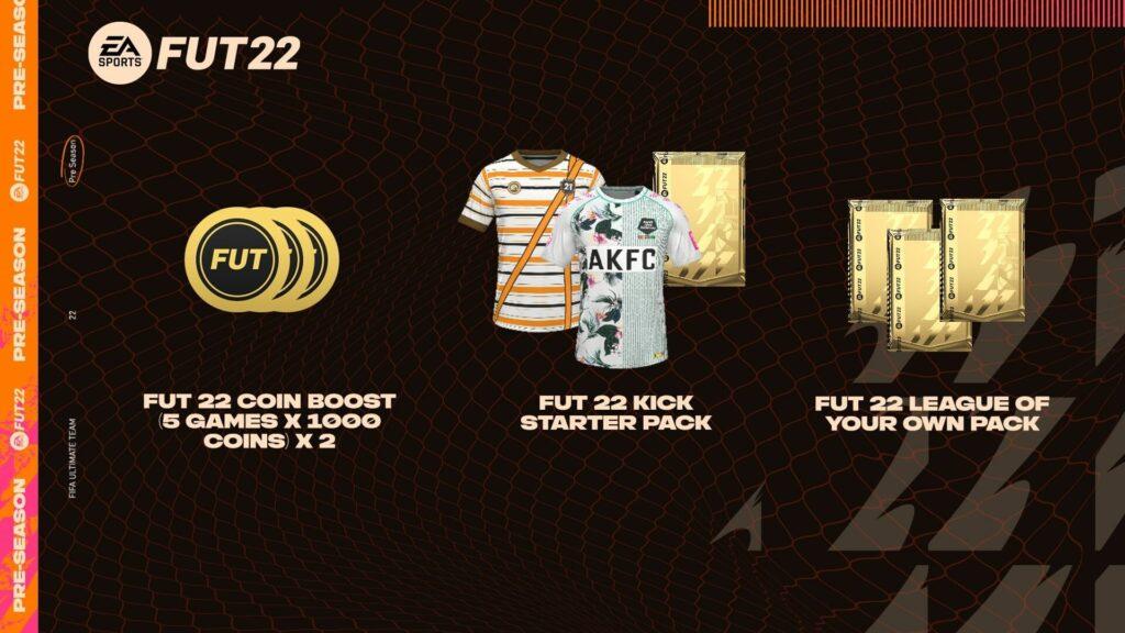 FIFA 21 Pre-Season: gioca e ottieni premi per FUT 22