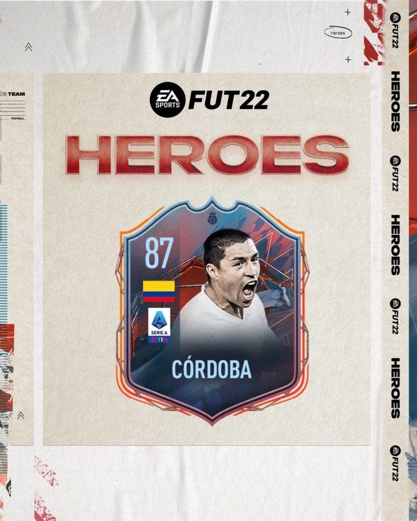 FIFA 22: Ivan Ramiro Cordoba FUT Heroes