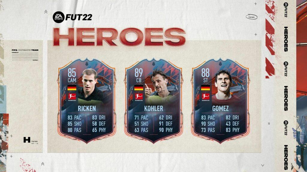 FIFA 22: Bundesliga FUT Heroes