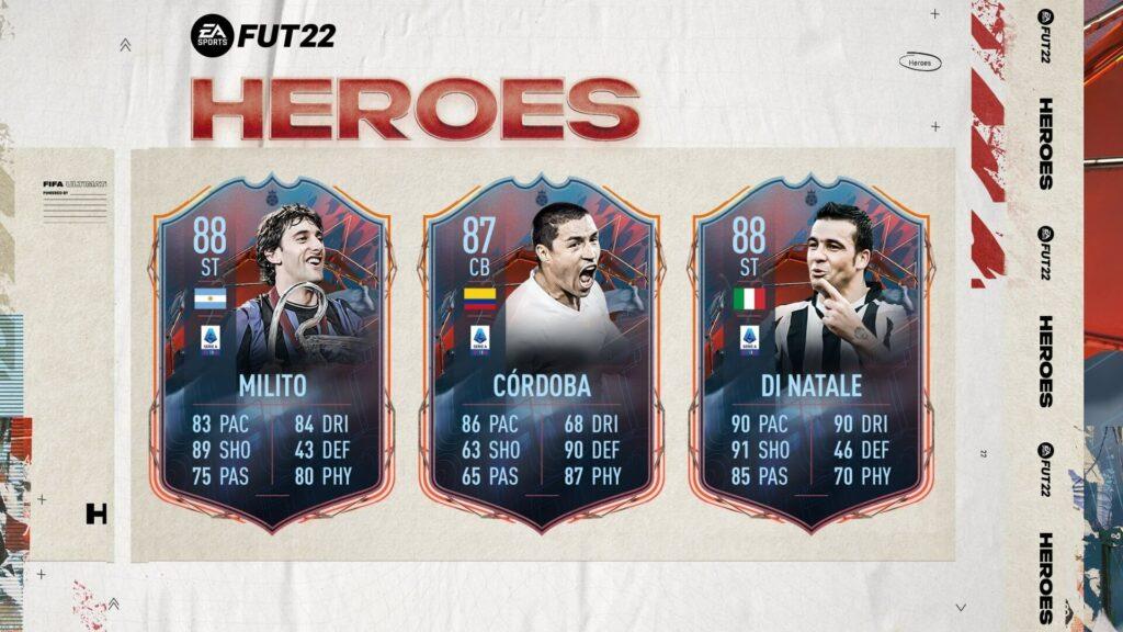 FIFA 22: Serie A Tim FUT Heroes