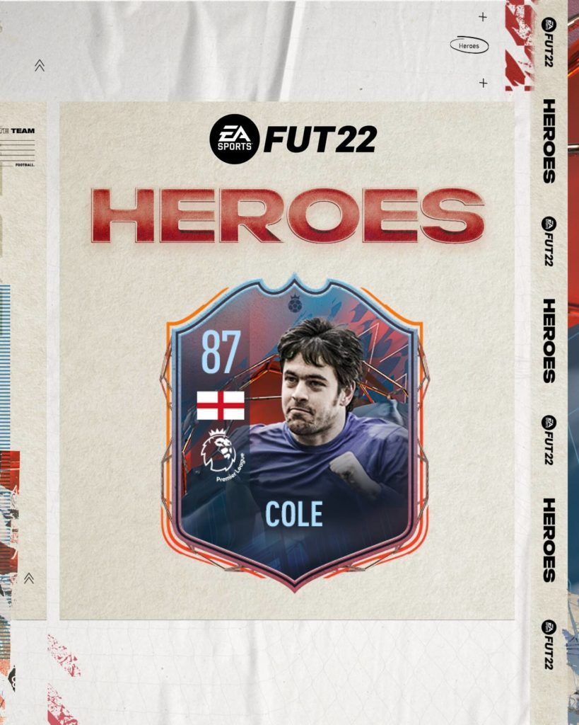FIFA 22: Joe Cole FUT Heroes