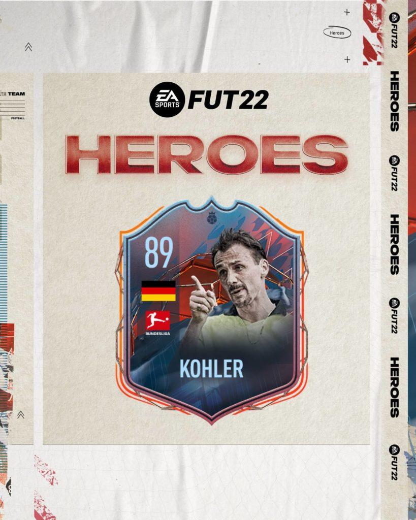 FIFA 22: Kohler FUT Heroes