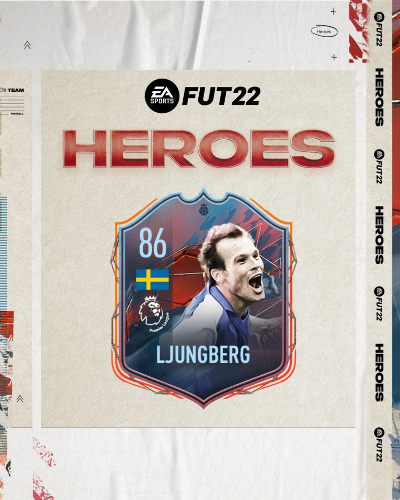 FIFA 22: Ljungberg FUT Heroes