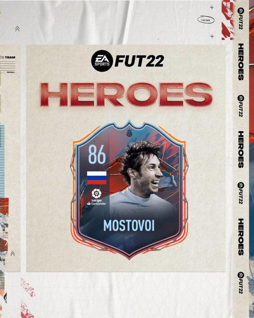 FIFA 22: Mostovoi FUT Heroes