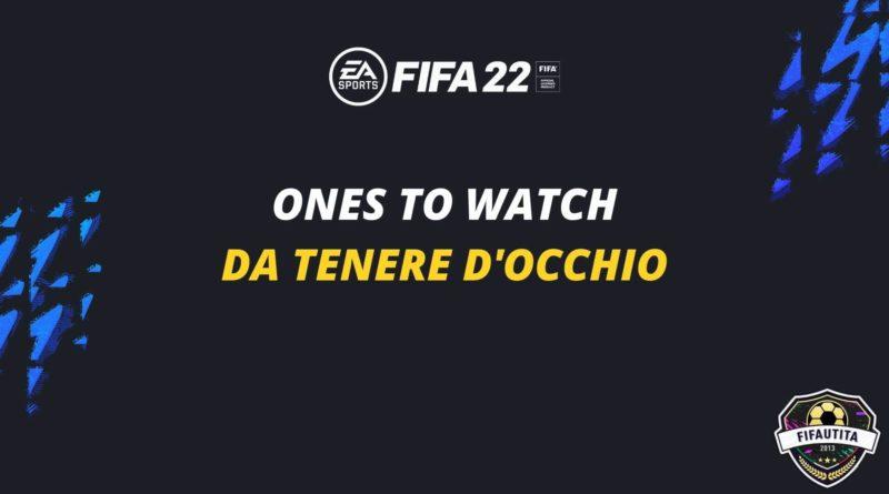 FIFA 22 Ones to Watch: da tenere d'occhio