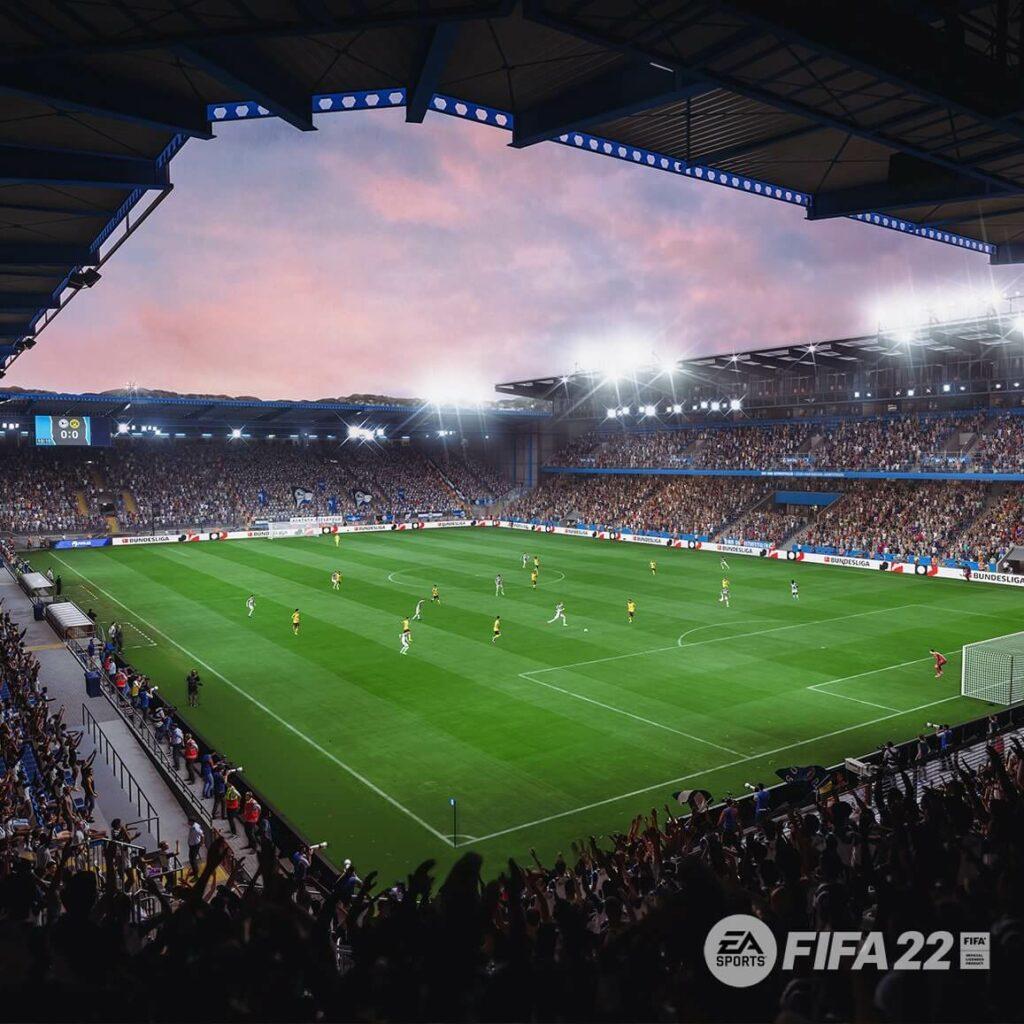 FIFA 22: Scucho Arena dell'Armenia e Bielefield
