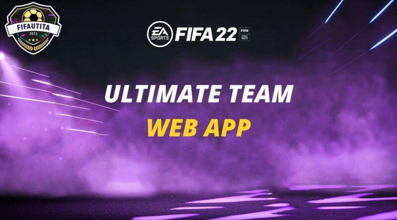 FIFA 22 Ultimate Team Web App