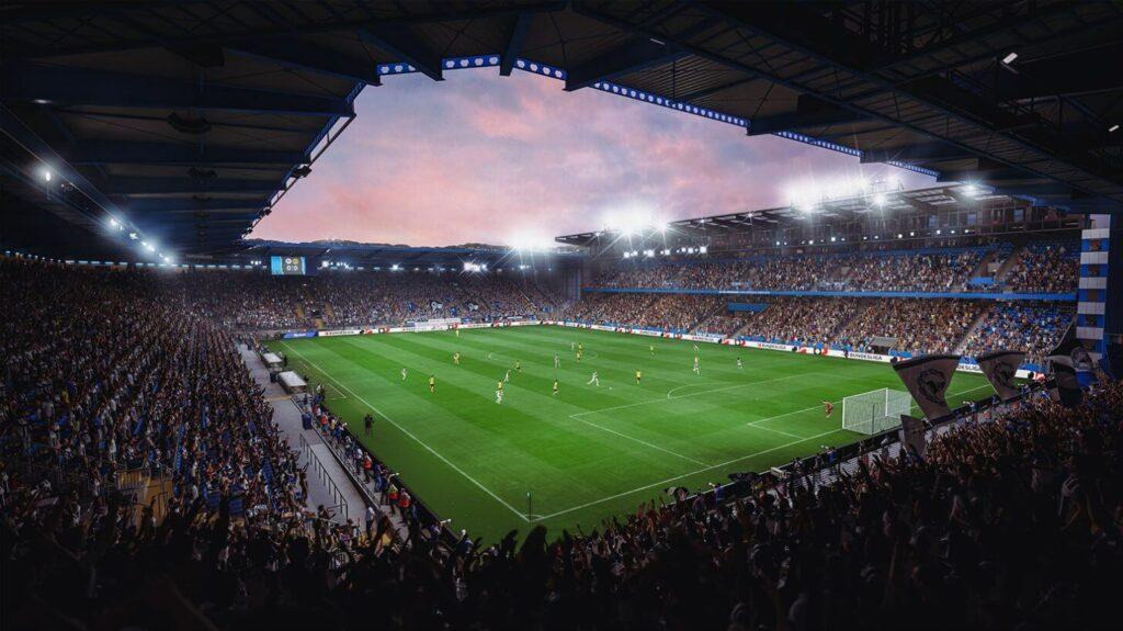 FIFA 22: Armenia e Bielefeld stadium