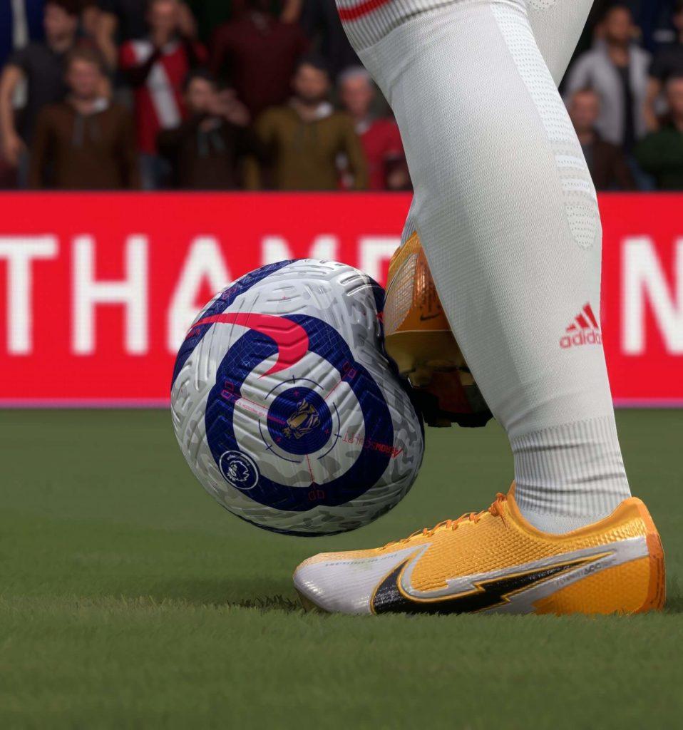 FIFA 22: fisica del pallone della Premier League