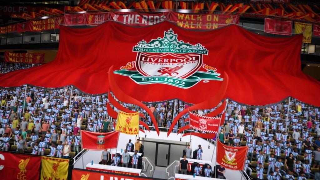 FIFA 22: customizzazione stadio in FUT del Liverpool