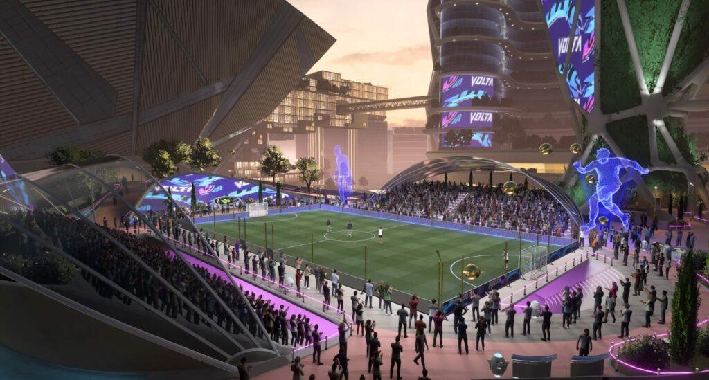 FIFA 22: gli stadi in Volta Football