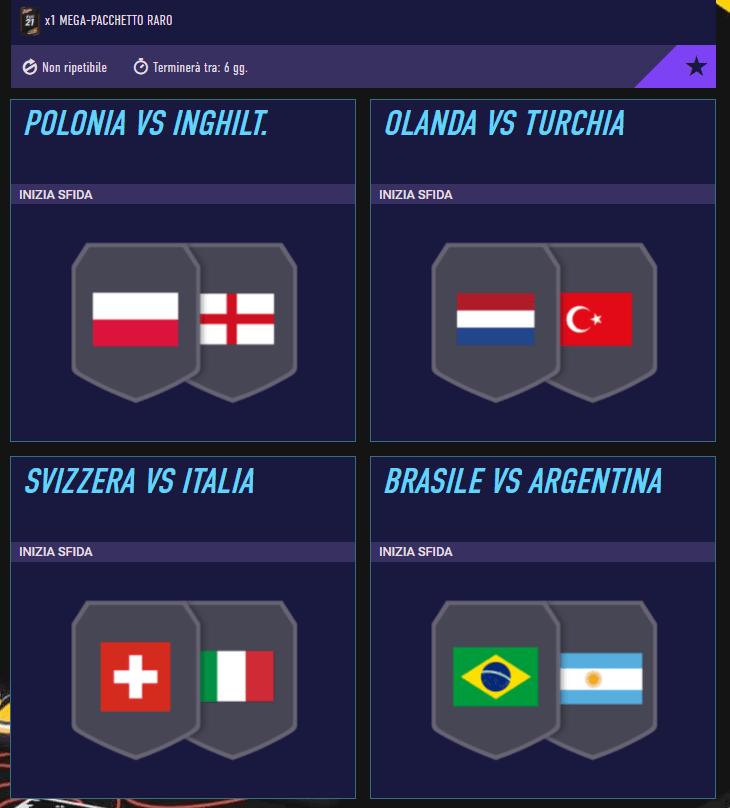 FIFA 21: SCR incontri principali del 2 settembre
