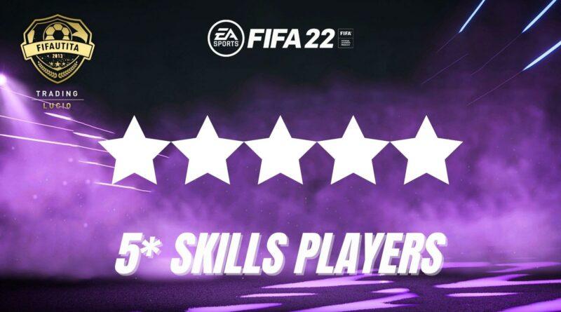 FIFA 22: tutti i giocatori con 5 stelle skills
