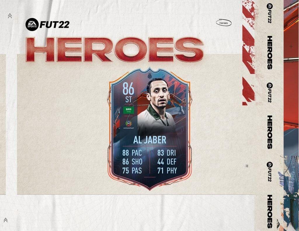 FIFA 22: Al Jaber FUT Heroes