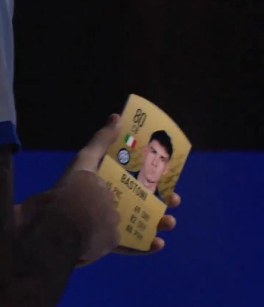 FIFA 22: Bastoni rating