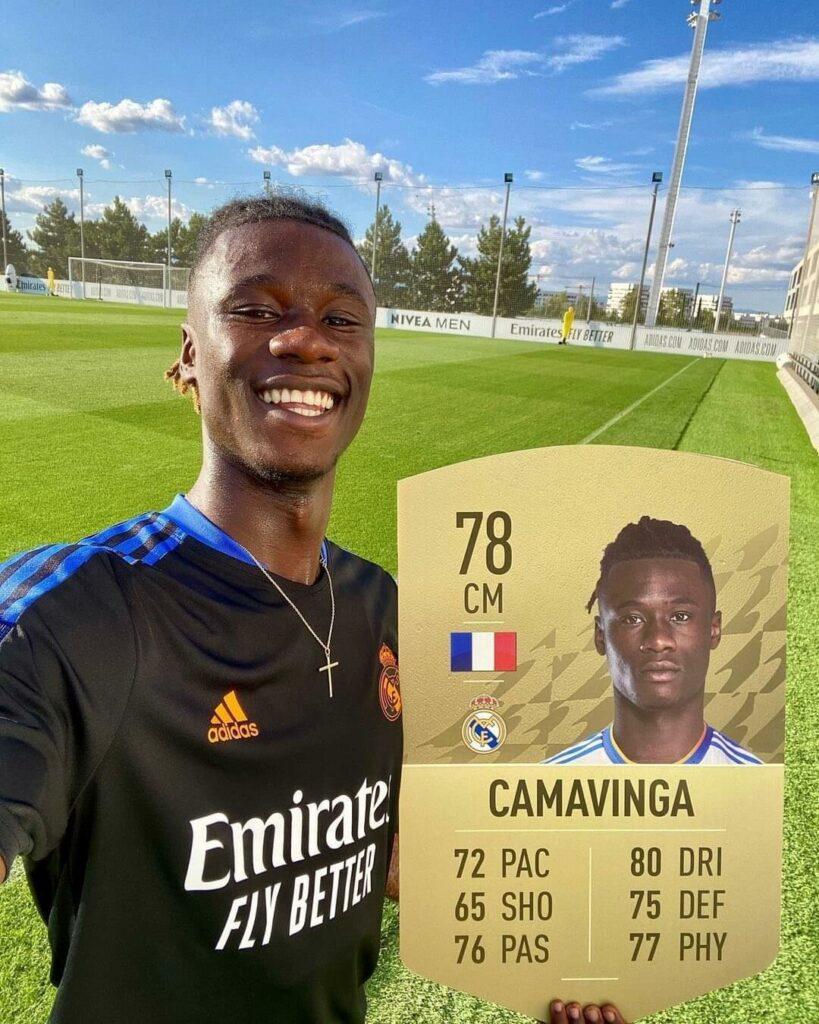 FIFA 22: Camavinga rating 78