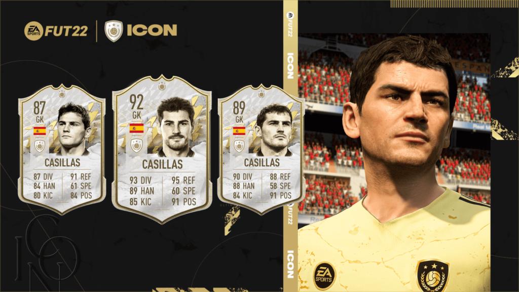 FIFA 22: Iker Casillas icon