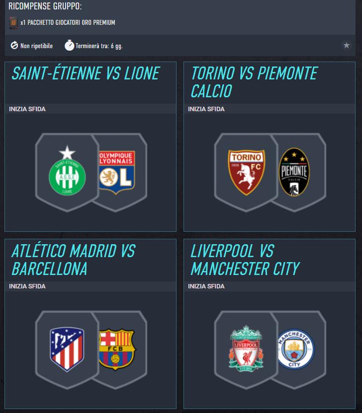 FIFA 22: SCR incontri principali del 30 settembre