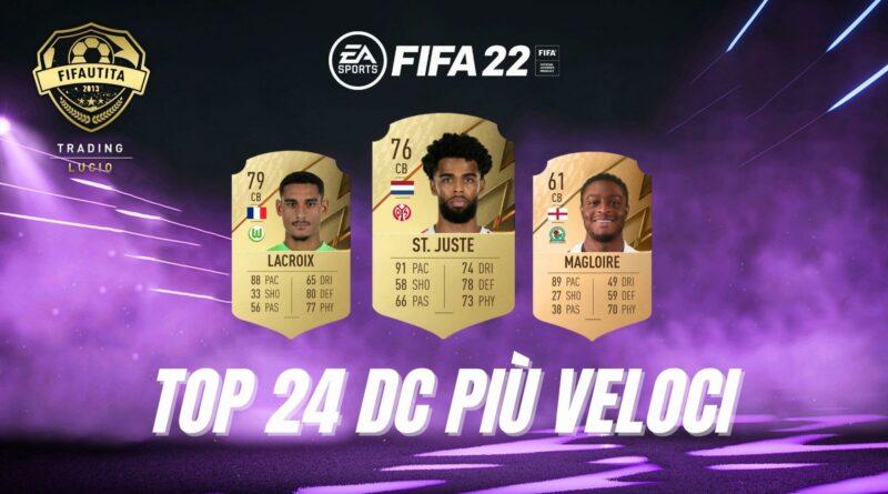 FIFA FUT 22: TOP 24 DC più veloci