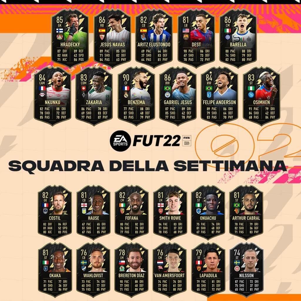 FIFA 22: TOTW 02