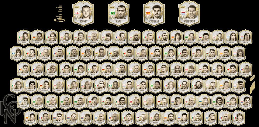 FIFA FUT 22: icons