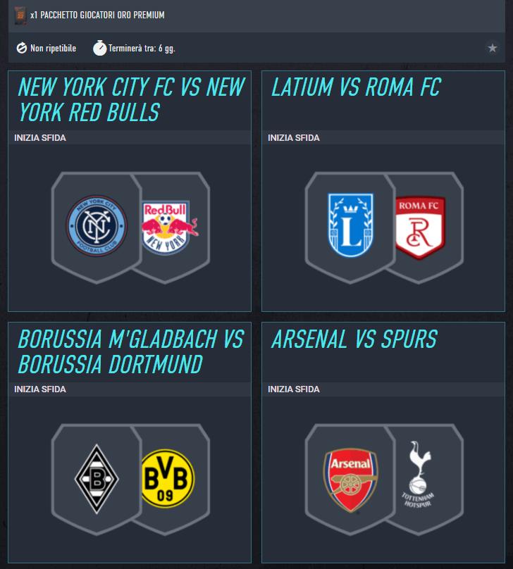 FIFA 22: SCR incontri principali del 23 settembre