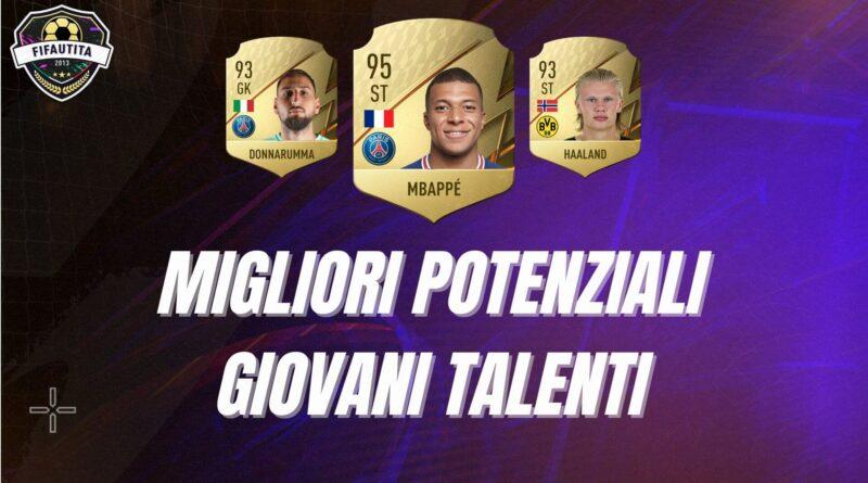 Migliori giovani talenti in FIFA 22 con potenziale più alto