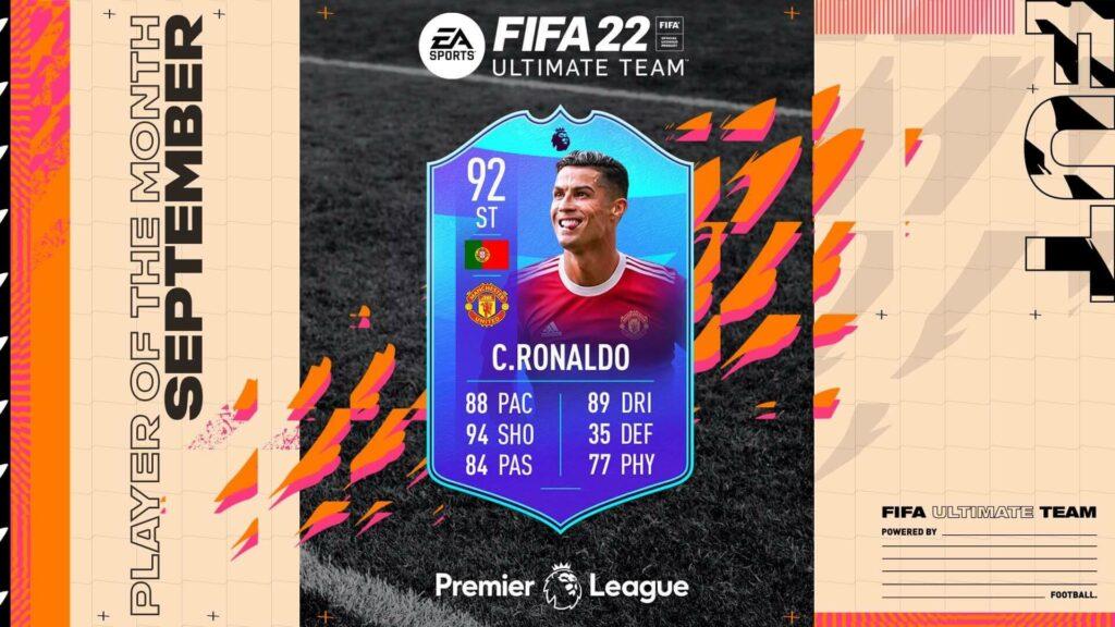 FIFA 22: CR7 POTM SBC