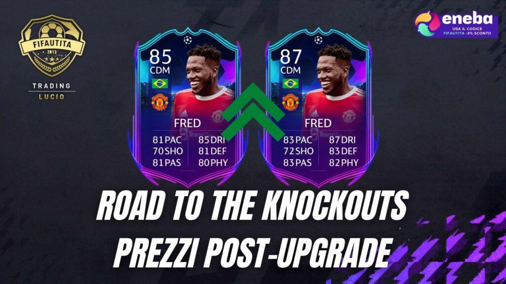FIFA 22: investimenti sui Road to the Knockouts in vista del loro upgrade