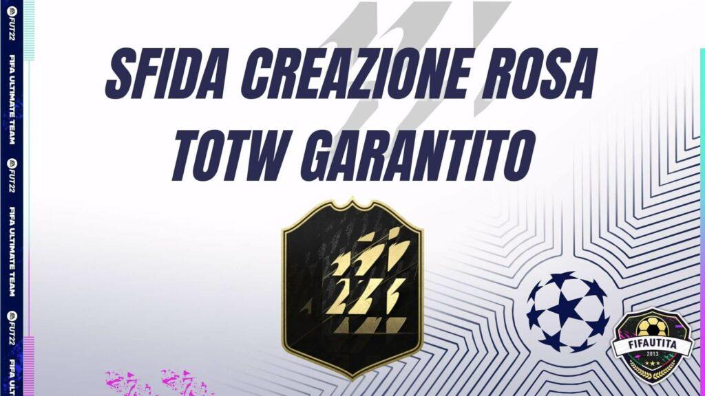 FIFA 22: SCR TOTW garantito RTTK