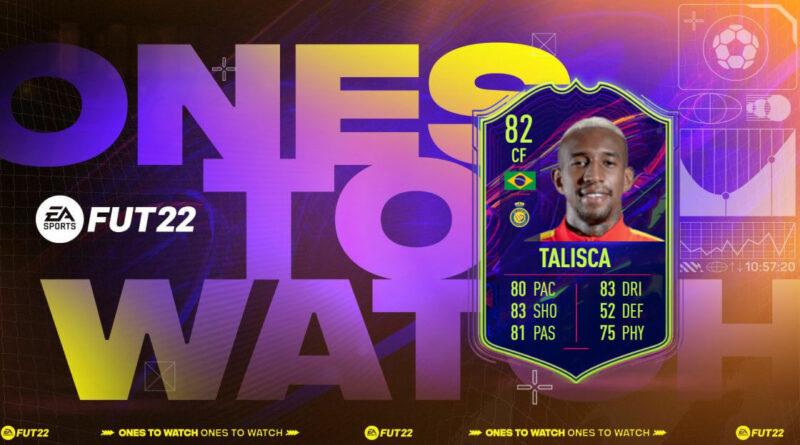 FIFA 22: SBC Talisca OTW