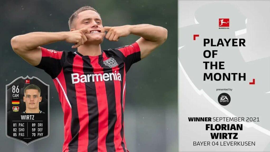 FIFA 22: WIrtz Bundesliga POTM SBC