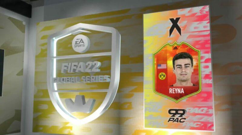 FUT 22: Adidas Reyna card 99 pace