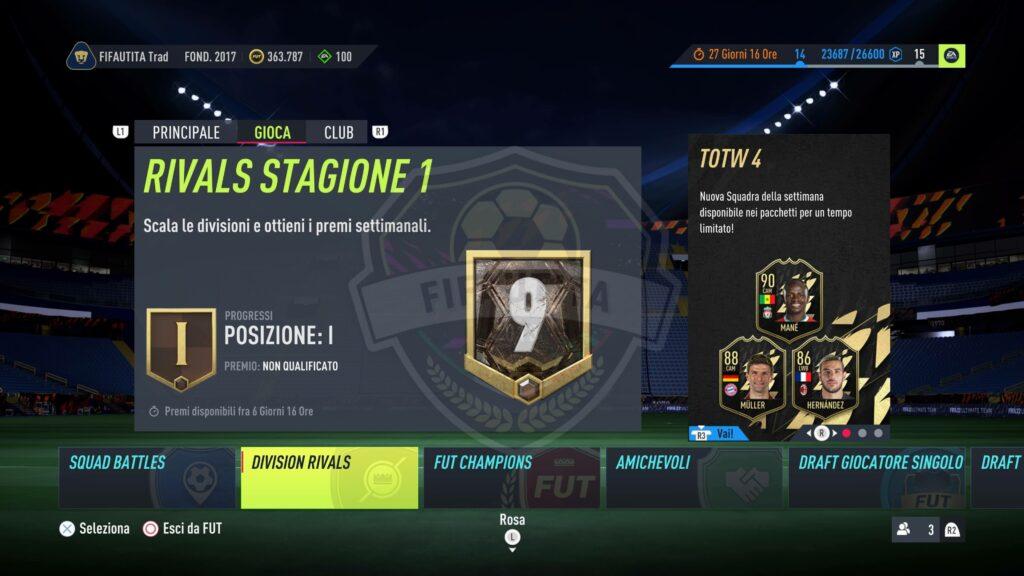Premi Division Rivals in FIFA 22 Ultimate Team